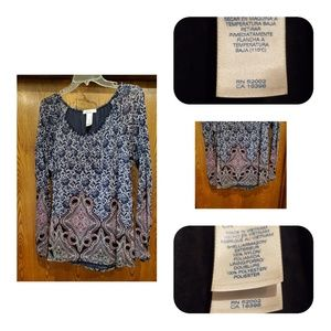 Navy blouse ❤BOGO❤